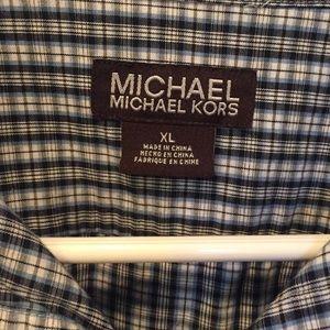XL Michael Kors men's button down shirt